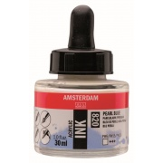 AMSTERDAM ACRYLIC INK 30 ml - PEARL BLUE