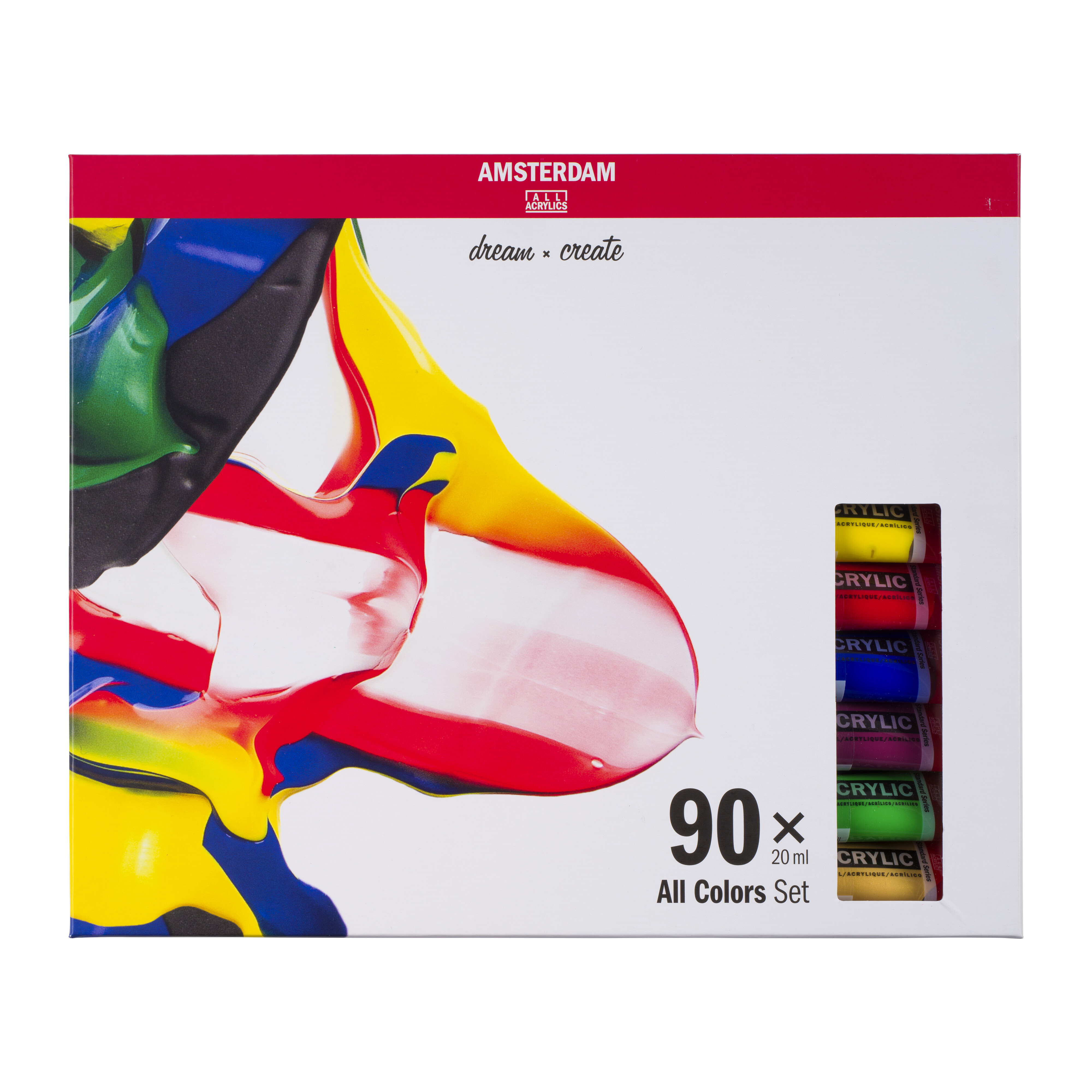 TALENS AMSTERDAM ZESTAW 90X20 ML ALL COLOURS