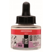 AMSTERDAM ACRYLIC INK 30 ml - PEARL VIOLET