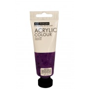 ART RANGERS ACRYLIC 75 ML - GLITTER PURPLE