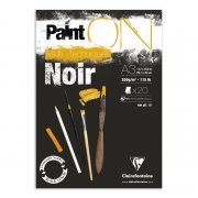 "Clairefontaine blok klejony ""Paint On Black"", A3 20ark. 250g /2"