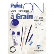 "Clairefontaine blok klejony ""Paint On a Grain"", A5 20ark. 250g /4"