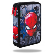 CoolPack Piórnik podwójny DISNEY JUMPER XL SPIDERMAN BLACK