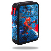 CoolPack Piórnik podwójny DISNEY JUMPER XL SPIDERMAN DENIM