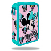CoolPack Piórnik podwójny DISNEY JUMPER XL MINNIE PINK