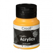 CREALL STUDIO ACRYLICS 500 ml warm yellow 07