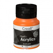 CREALL STUDIO ACRYLICS 500 ml orange 09