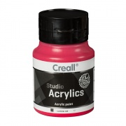CREALL STUDIO ACRYLICS 500 ml carmine red 12