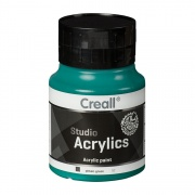 CREALL STUDIO ACRYLICS 500 ml phtalo green 52