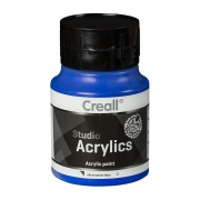 CREALL STUDIO ACRYLICS 500 ml ultramarine blue 42