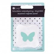 DP CRAFT DZIURKACZ MAGNET. ANYWHERE 3,8 CM MOTYL