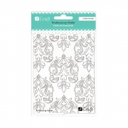 DP CRAFT FOLDER DO EMBOSSINGU 2D DAMASK 11x14,5 CM