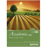 FABRIANO BLOK ACCADEMIA 200G 22,5X32,5 200G 20 arkuszy