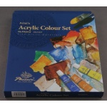 Komplety farb akrylowych