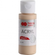 HAPPY COLOR ACRYL MAT 60 ML - KARMELOWE TOFFI