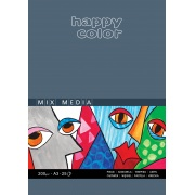 HAPPY COLOR BLOK MIX MEDIA A3
