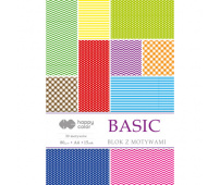 HAPPY COLOR BLOK Z MOTYWAMI - BASIC A4