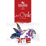 KOH-I-NOOR ART INK BLOK DO TUSZU 350g A5 25 KART
