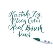KURETAKE CLEAN COLOR REAL BRUSH BLACK Cienkopis czarny w pędzelku