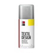 MARABU TEXTIL SPRAY 150ML SILVER
