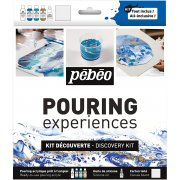 PEBEO DISCOVERY KIT POURING 4X59ML + SILICONE