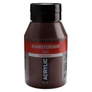 TALENS AMSTERDAM COLOUR ACRYLIC 1000ml BURNT UMBER