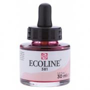 TALENS ECOLINE 30 ml 381 - PASTEL RED - koncentrat farby wodnej