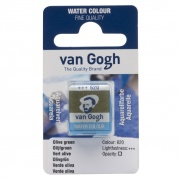 TALENS VAN GOGH WATER COLOUR PAN OLIVE GREEN