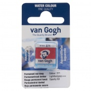 TALENS VAN GOGH WATER COLOUR PAN PERM. RED DEEP