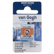TALENS VAN GOGH WATER COLOUR PAN PYRROLE ORANGE