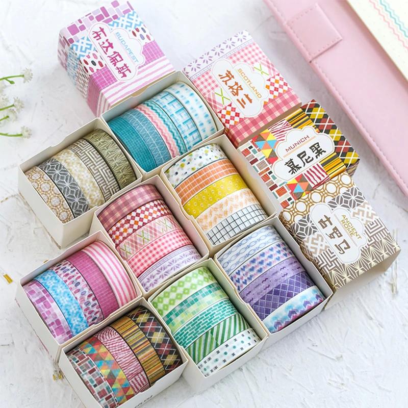 Taśmy dekoracyjne Washi Tape